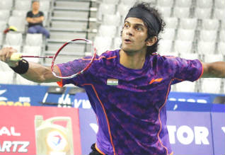 Ajay Jayaram, White Nights International Challenge Badminton, Russia