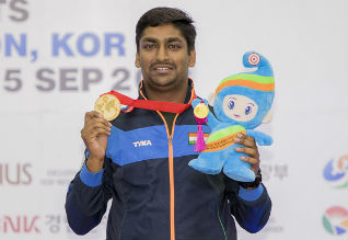 Ankur Mittal, Double Trap Shooting, World Shooting Championships