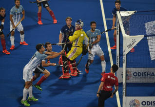 World Cup Hockey, Argentina, France