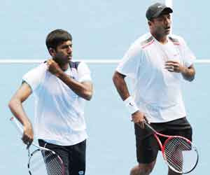 Mahesh Bhupathi, Rohan Bopanna, Italy Open Tennis