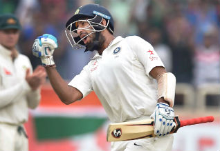 india vs australia, first test, adelaide, pujara, lyon