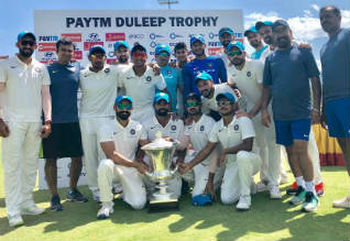 Duleep Trophy, India Blue, Champion, India Red