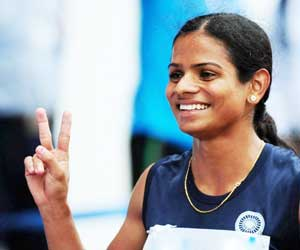 Dutee Chand, Fed Cup National Athletic