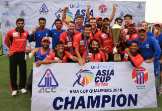 Asia Cup Cricket, Hong Kong, Qualified