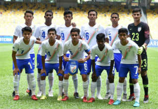 AFC U16 Soccer, Quarter Final, India, South Korea