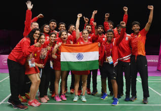 Commonwealth Games 2018, Badminton, India, Gold