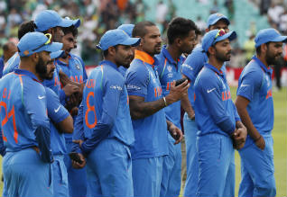India champions trophy cricket