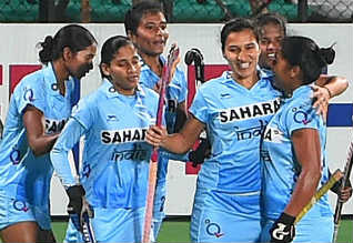 Womens Asian Champions Trophy Hockey, India, Japan