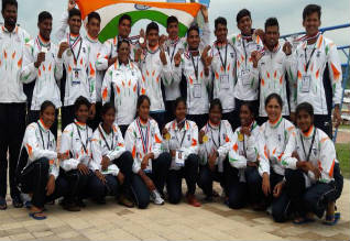 Indian women team wins gold at Asian Junior Rowing Championships