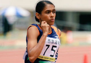 Jisna Matthew, Asian Junior Athletics Championships, Gold Medal