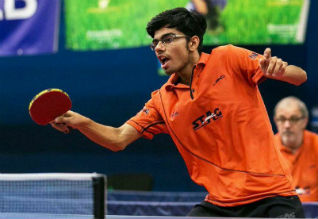 World Junior Table Tennis Championships, Manav Vikas Thakkar, Quarterfinal