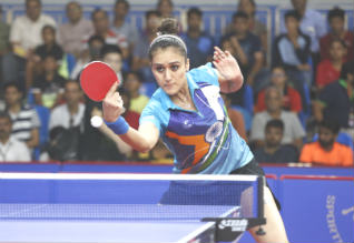 manika batra, india, table tennis