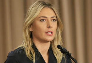 Sharapova, Italy Open Masters Tennis