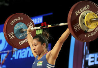 Mirabai Chanu, World Weightlifting Championship