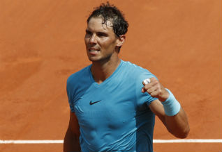 French Open Tennis, Nadal, Serena Williams, Halep