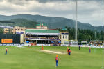 Duleep Trophy Cricket, NPR College Ground, Natham, India Red, India Green