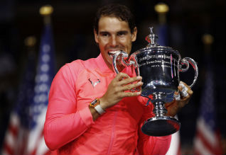 US Open Tennis, Nadal, Champion