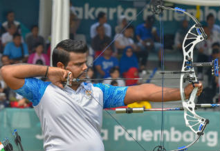 Rajat Chauhan, archery, india