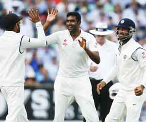 India, England, Oval Test, Cricket, Leading