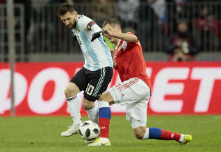 Friendly Soccer, Argentina, Russia