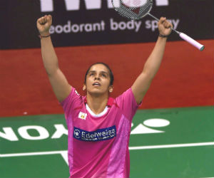 asian badminton championchip saina india