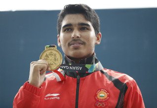Pistol shooter Saurabh Chaudhary bags junior world championship crown with a record score