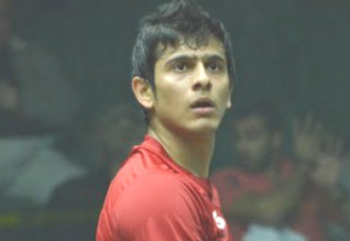 Black Ball Open Squash, Saurav Ghosal