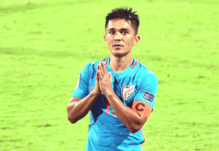 we will give our lives on the pitch, Sunil Chhetri, india, football