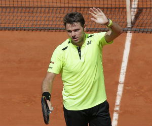 French Open Tennis, Wawrinka