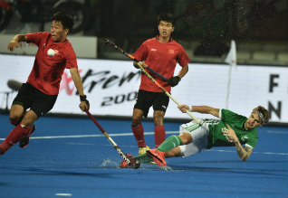 world cup hockey, china ireland
