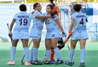 Indian women hockey team beat South Korea