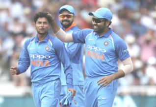 India, England, First One Day International Cricket, Kuldeep, Rohit Sharma