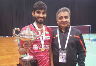Australia Open Badminton, Srikanth, Champion