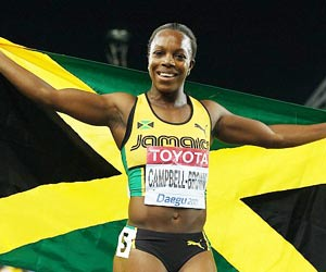 Jamaica Veronica Campbell Brown suspended after failing drug test