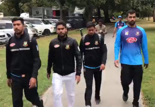 Bangladesh Test cricket team flees mosque shooting