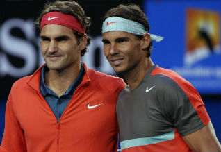 French Open Tennis, Nadal, Champion, Federer