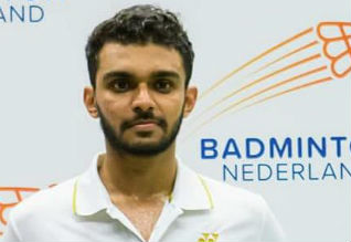 Dutch International Badminton, Harsheel Dani, Champion
