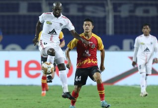 Indian Super League Soccer, ISL Football, North East United, 7th Win, East Bengal