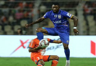 Indian super league, goa beat mumbai, football