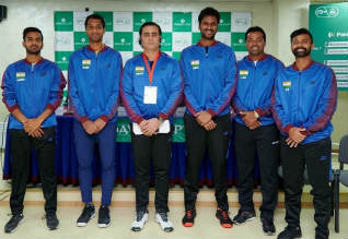 Davis Cup, Tennis, World Group I, India, Finland