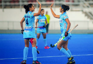 India, South Korea, Women Hockey