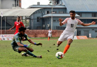 saff football, india, banglasesh, final