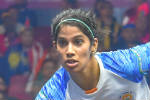 Womens World Squash Championships, Joshna Chinappa, 2nd Round Win