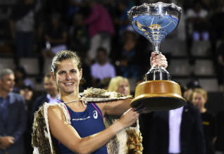 WTA Auckland Open Tennis, Julia Goerges, Champion
