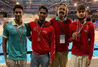 Madhavan son Vedaant wins bronze for India in swimming