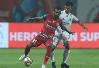 Indian Super League Soccer, ISL Football, Jamshedpur, North East United, Draw
