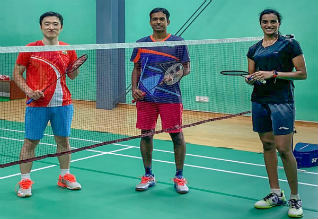 Sindhu, Praneeth Sikki resume training after COVID 19 forced break