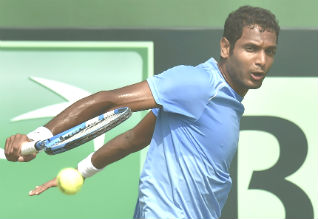 ramkumar, india, davis cup, tennis