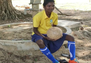 INDIA, World Cup football contenders from Jharkhand are struggling to get two meals a day