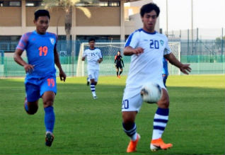 Asian Football Championship Qualification, U19 Soccer, India, Uzbekistan